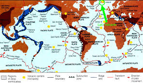 Mexico Volcano Map by Laki Volcano Iceland Dynamic Earth