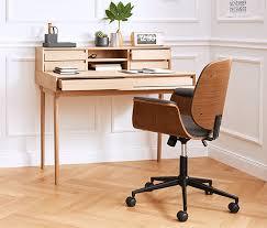 schreibtischstuhl design höhenverstellbarer schreibtischstuhl im retro design