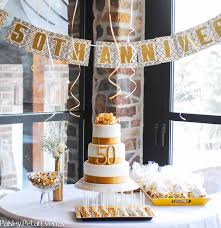 50th anniversary party ideas golden 50th anniversary party ideas kate aspen