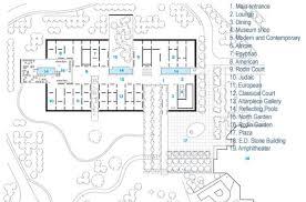 Floor Plan Of Museum North Carolina Museum Of Art By Thomas Phifer And Partners