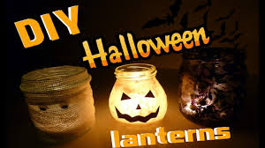 Mason Jar Halloween Lantern Diy Halloween Lanterns Halloweenowe Lampiony Youtube