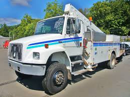 freightliner trucks for sale 2004 freightliner fl70 awd bucket truck for sale by arthur trovei