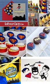 Superman Birthday Party Decoration Ideas Children U0027s Parties La Belle Blog