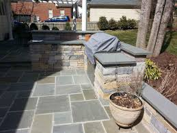 Dry Laid Bluestone Patio by Great Patio Stones With Grass In Between Bluestone Patio With
