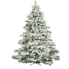 artificial white pine christmas tree christmas lights decoration