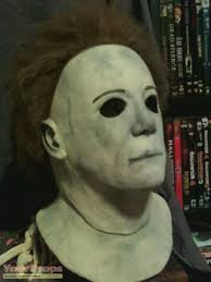 halloween prop knife h20 signed jamie lee curtis autograph mask
