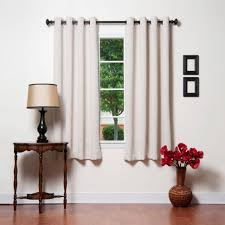 Blackout Curtains Grommet Coffee Tables White Grommet Thermal Blackout Curtain White