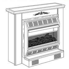 Desa Ventless Fireplace - vmh2800tpb desa vent free compact gas fireplace