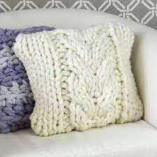 knit home décor pillows u2013 premier yarns
