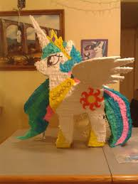 my pony pinata piñatas my pony celestia pie caricatura