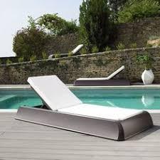 chaises longues de jardin un transat design transat pour jardin