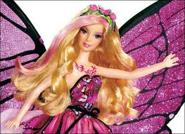 cartoons barbie mariposa