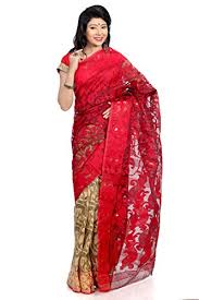 bangladeshi jamdani saree b3fashion indian handloom traditional half n half dhakai jamdani