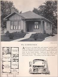 american bungalow house plans 1929 home builders catalog giddings house plan american