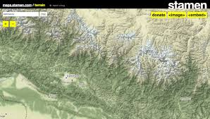 Stamen Maps Hillshade Hashtag On Twitter