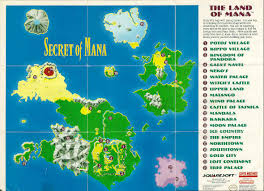Secret Map Secret Of Mana World Map
