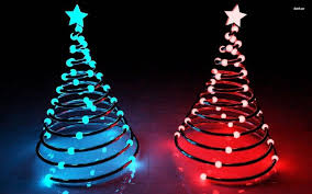 led spiral tree metal trees happy holidays