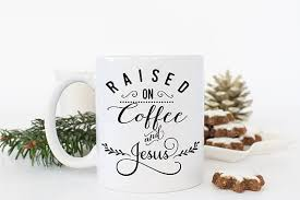 coffee and jesus mug christian gifts for christian