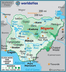10 rivers world map nigeria map geography of nigeria map of nigeria worldatlas
