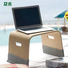 Wooden Laptop Desk by Laptop Lap Desk For Bed Best Home Furniture Decoration