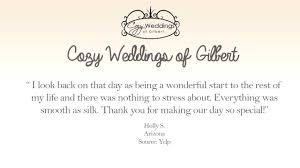 Wedding Planners Az Cozy Weddings Of Gilbert Reviews Wedding Planners Gilbert