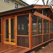 How To Close In A Covered Patio A Side Porch Like This For Summer Sleeping Yes Please Outdoor
