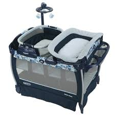 pack and play with bassinet and changing table graco pack n play playard with nearby napper seat portable rocker