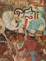 si e de mural painting by diego rivera of nezahualcoyotl the acolhua philosopher