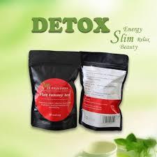 Teh Detox 28 hari detox herba cina flat tummy teh berat kurangkan lemak