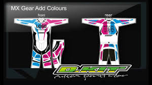 custom motocross helmets custom mx and cycle race wear designed and printed in 7 days