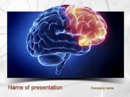 templates for powerpoint brain neuroscience powerpoint template human brain frontal lobe powerpoint