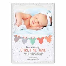 baby clothes newborn announcement card photoshop templates for