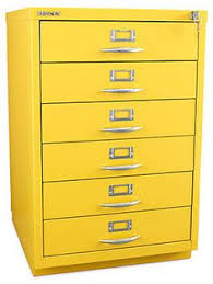 Yellow Metal Filing Cabinet Metal Filing Cabinet 2 Drawer Office Storage Industrial Stationary
