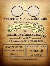 Harry Potter Designs Harry Potter Baby Shower Invitations Harry Potter Baby Shower