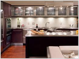 Glass Kitchen Cabinet Doors Only Smoked Glass Kitchen Cabinet Doors Cabinet Home Decorating