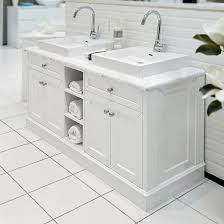 Classic White  Marble Top Bathroom Vanity At Allure - Bathroom vanities with marble tops