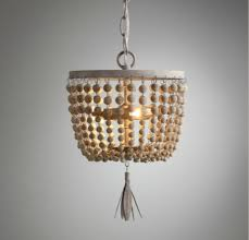 wood bead ceiling light american country dauphine wood beads small pendant baby and child