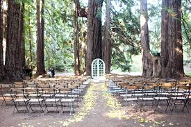 redwood forest wedding venue destination wedding among the california redwoods