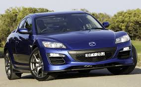 mazda automobile images mazda rx 8 gt blue front automobile