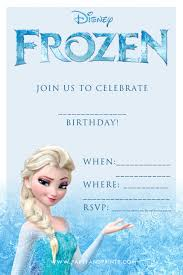 Designing The Beautiful by Frozen Invitation Template Frozen Invitation Template As