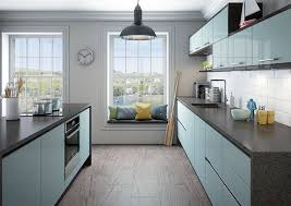 kitchen hardwood floor modern kitchen ideas white and blue