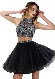 amazon com babyonline two pieces prom dresses 2016 short organza