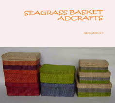 seagrass storage baskets with lids seagrass storage baskets with