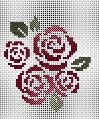 free cross stitch pattern motif haku alkuopetus kuvis