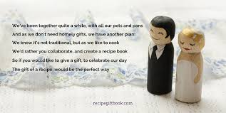 wedding gift book confetti win the ultimate personalised recipe gift book milled