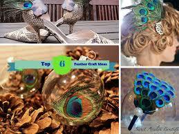 6 uniquely creative diy peacock feather craft ideas