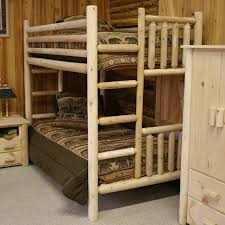 Bunks And Beds Log Bunk Beds For Cabin Log Bunk Beds Log Bunk Beds
