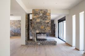 three sided fireplace stamatiou homes