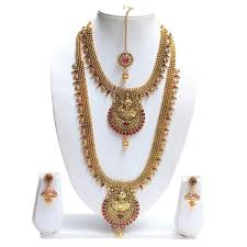 best necklace designs images Best gold necklace set designs long with inside breakpoint me jpg