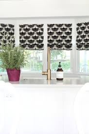 new roman blinds beach cottage kitchen the house of silver lining